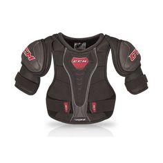 EPAULIERES CCM RBZ 110 JR Hockey Shoulder Pads, Ice Hockey, Wetsuit, Motorcycle Jacket, Jr, Link, Products, Fashion, Shoulder