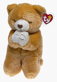 3c160e27b17 Amazon.com  TY Beanie Buddy - HOPE the Praying Bear  Toys  amp