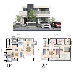 Sims 4 House Plans, Dream House Plans, Sims 4 House Design, Urban Design Plan, Japan Architecture, Model House Plan, Sims 4 Houses, House Layouts, My House