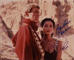 Masada Movie Cast Photo Signed Co Signed by Peter O'Toole Barbara Carrera | eBay