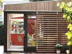 Double Dutch: Modern little garden studio doubles as office & guesthouse (Video)