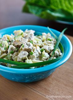 old-fashioned vegan chicken salad