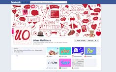 I like the colorful tab icons for American Apparel #facebook #apps