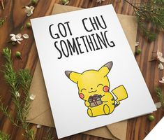 Adorable Valentine's Cards for Your Pokémon-Loving Sweetheart | Loading Player Two Diy Cards For Boyfriend, Birthday Cards For Boyfriend, Birthday Cards For Friends, Bday Cards, Handmade Birthday Cards, Pokemon Go Cards, Pokemon Gifts, Pokemon Puns, Valentine Gifts For Boys