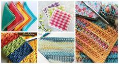 Modern DishCloth Free Crochet Patterns: Crochet wash cloth / dish cloth, spa gifts for Mother's Day Crochet Butterfly Free Pattern, Crochet Triangle, Crochet Blanket Patterns, Crochet Beanie Hat, Crochet Baby Booties, Crochet Girls, Diy Crochet, Crochet Handbags, Crochet Flowers