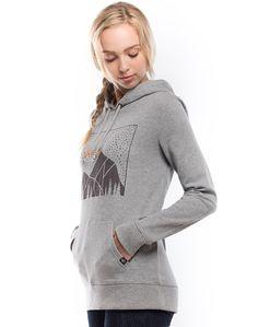 Women's Mountain Lights (Phantom) | womens hoodies  | tentree - official online shop