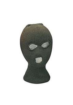 Olive Drab Acrylic Three Hole Face Mask ! Buy Now at gorillasurplus.com  Military Surplus b90c891025b