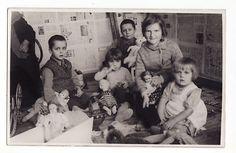 1930s Estonia Little Girls Boys Many Toys Doll | eBay