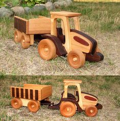 Quick & Easy Farm Tractor with Animals Scroll Saw Plan Set