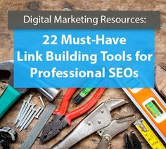 22 Must-Have Link Building Tools for Professional SEOs | Digital Current  ||  Need to boost your link profile? Professional SEOs use these 22 link building tools and so should you; covering every area of inbound & outbound linking. https://www.digitalcurrent.com/seo-engine-optimization/22-link-building-tools/?utm_campaign=crowdfire&utm_content=crowdfire&utm_medium=social&utm_source=pinterest