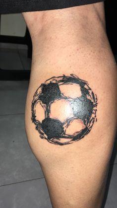 Tatoo pelota fútbol