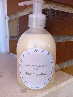 Natural y Artesano: Como hacer jabón liquido de una pastilla de jabón