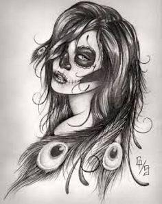 catrinas-diseños-bocetos-tatuajes (39)