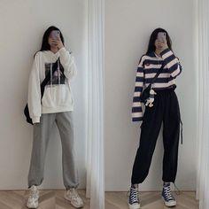 Korean Girl Fashion, Korean Fashion Trends, Ulzzang Fashion, Korean Street Fashion, Kpop Fashion Outfits, Korea Fashion, Daily Fashion, Asian Fashion, Style Fashion