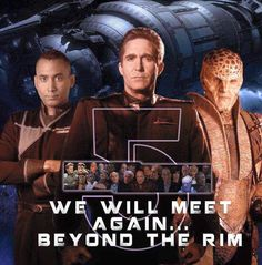 Babylon Pic by James Davis-Mann. Fiction Movies, Sci Fi Movies, Science Fiction, Sci Fi Tv Series, Sci Fi Tv Shows, Web Series, Best Sci Fi, Babylon 5, And So It Begins