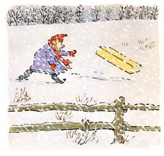 Brave Irene by William Steig. All of his books are wonderful!