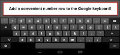 Are you tired of switching the keyboard of your smartphone to numbers and alphabets? This tricks will teach you how to add number row to google keyboard.