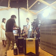 本日は美容での有名なテレビ番組で中国のカリスマインフルエンサーにIAPESTUSシリーズをご紹介してくださることになりこっそり収録を観に行かせてもらいましたテレビ番組の職場は後日ご報告いたします @#iapetus_japan #IAPETUS  ##イアペスト #Iapetusmdr #Iapetusvc30