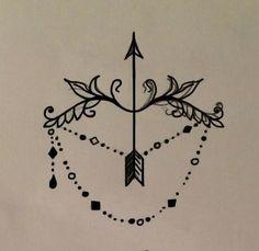 Sagittarius tattoos on Pinterest   Pretty girl tattoos Archer tattoo ...