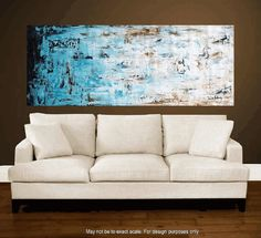 """Enormous 72""""xxl large abstract painting original palette knife painting free shipping, from jolina anthony signet  express shipping. $379.00, via Etsy."""