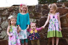 Sister easter dresses https://www.etsy.com/listing/227051434/girls-lavender-floral-hummingbird-dress