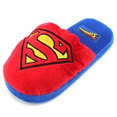 Concept One DC Comics Superman Sublimated Mens Flip Flop Sandals