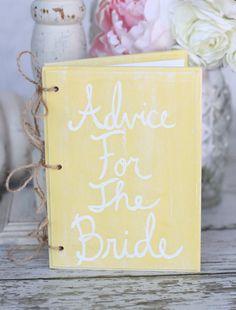 Vintage Shabby Chic Bridal Shower | Bridal Shower Wedding Guest Book Vintage Inspired Shabby Chic Decor