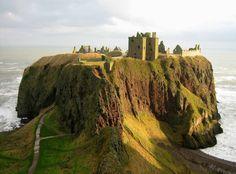L'image du jour : Château de Dunnottar, côte nord-est de l'Écosse.