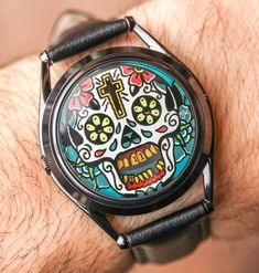 Wrist Time Review with Ariel Adams and Mr. Jones Watches - Last Laugh Tattoo, Sun & Moon and Timewise. Artistic, creative, affordable watches designed in London. Get to know the brand a bit more in our latest article...