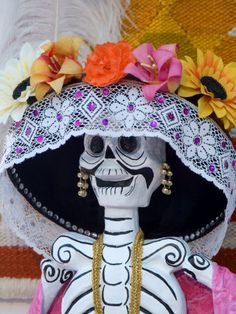 Skeleton on Day of the Dead Festival, San Miguel de Allende, Mexico