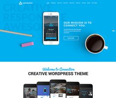 Menu Layout, Page Layout, Portfolio Wordpress, Amazing Websites, Mega Menu, News Online, Creative Business, Wordpress Theme, Connection