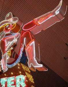 Vegas Neon Cowgirl Sign on Fremont St Cowboy Candy, Cowboy Chic, Midnight Cowboy, Las Vegas Vacation, The Blues Brothers, Kacey Musgraves, Fallout New Vegas, Marvel Films, Seven Wonders