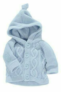 """[ """"Buy Blue Cable Knit Cardigan from the Next UK online shop [ """"Buy Blue Cable K… – Stricken sie Baby Kleidung Baby Clothes Patterns, Baby Knitting Patterns, Clothing Patterns, Babies Clothes, Knitting Designs, Baby Boy Outfits, Kids Outfits, Crochet Scarf Easy, Hoodie Pattern"""