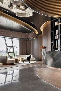 Architecture Restaurant, Restaurant Design, Interior Architecture, Luxury Hotel Design, Hotel Lobby Design, Modern Hotel Lobby, W Hotel, Hotel Safe, Lobby Interior