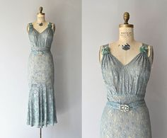 Fontainebleau gown • vintage 1930s dress • lace 30s gown on Etsy, ฿24,659.86