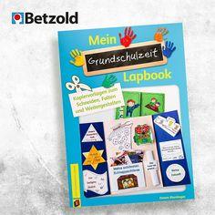 Lapbooks lockern den Unterricht auf.  In diesem Buch findet ihr 27 Ideen und Tipps, wie eure Kinder ihre  Grundschulzeit festhalten können. Eine tolle Erinnerung für später. #lapbook #lapbookideen