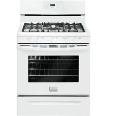 frigidaire gallery 50 cu ft gas range with oven in white - Da2900020b