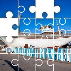 Free daily jigsaw puzzles, choose your puzzle cut, new picture daily. Ship Building 50 Piece Circles Old wooden sailing ship in a dry dock building Daily Jigsaw, Disney Puzzles, Puzzle Board, Ocean Life, Lighthouses, New Pictures, Sailing Ships, Repeat, Flamingo