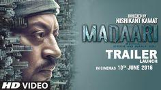 #MADAARI Official Trailer 2016 #Irrfan Khan #tseries #freeentertainmentvideos #freevideospro MADAARI Official Trailer 2016 _ Irrfan Khan_tseries_freeentertainmentvideos http://goo.gl/YNdZ6d