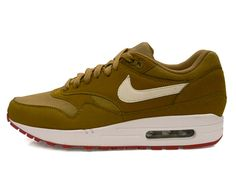 Nike AirMax 1 Lam Brown Kelp/White #wishlist