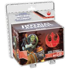 PRE-ORDER: Star Wars Imperial Assault Hera Syndulla and C1-10P (Chopper) Ally Pack