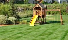 Playground for backyard backyard playground pictures and ideas Backyard Play Equipment, Backyard Playground Sets, Backyard Swing Sets, Backyard Playset, Playground Design, Backyard For Kids, Playground Ideas, Backyard Ideas, Playground Safety