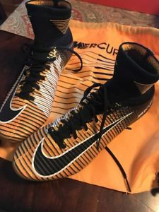 NEW NIKE MERCURIAL SUPERFLY V DF FG LASER ORANGE-BLACK-WHITE 831940-801 SZ  8.5  61dd3d84d