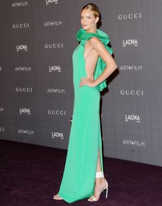 At the LACMA Art + Gala at LACMA in Los Angeles in 2012. See all of Rosie Huntington-Whiteley's best looks.