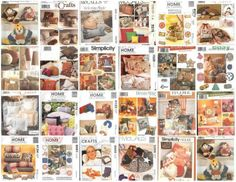 Pillows Home Accessories Sewing Pattern Butterick McCalls Simplicity Your Choice