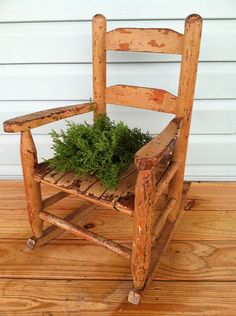 Antique  Primitive Cottage Farmhouse  Chippy by TimelessNchic, $59.95