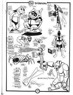 ALEX TOTH villians Comic Book Artists, Comic Books Art, Comic Art, Angel Cartoon, Old Cartoon Characters, Alex Toth, Fanart, Space Ghost, Art Story