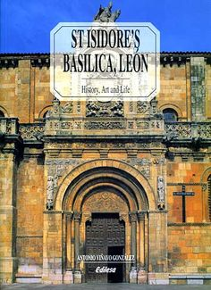 1. The Basílica de San Isidoro de León is a church in León, Spain, located on the site of an ancient Roman temple. Its Christian roots can be traced back to the early 10th century when a monastery for Saint John the Baptist was erected on the grounds. - The original Church was built in the pre-Arab period over the ruins of a temple to the Roman god Mercury. In the 10th century, the kings of León established a community of Benedictine sisters on the site.