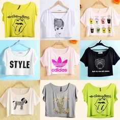 Image result for crop top shirt