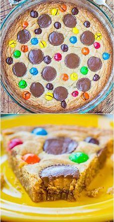Kaila's Place | Triple Peanut Butter Cookie Pie